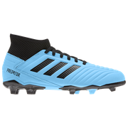 Adidas adidas Predator 19.3 FG - Boys Grade School / Bright Cyan/Core Black/Solar Yellow | Hard Wired