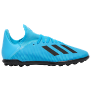 Adidas adidas X 19.3 TF - Boys Grade School / Bright Cyan/Core Black/Shock Pink | Hard Wired
