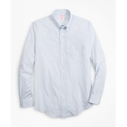 Brooksbrothers Luxury Collection Madison Classic-Fit Sport Shirt, Button-Down Collar Geo Print