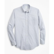 Brooksbrothers Luxury Collection Milano Slim-Fit Sport Shirt, Button-Down Collar Foulard Print