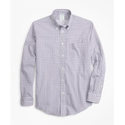 Brooksbrothers Luxury Collection Milano Slim-Fit Sport Shirt, Button-Down Collar Paisley Print