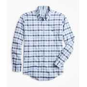Brooksbrothers Non-Iron Regent Fit Multi-Gingham Dobby Sport Shirt