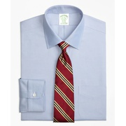 Brooksbrothers Stretch Milano Slim-Fit Dress Shirt, Non-Iron Spread Collar