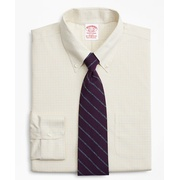 Brooksbrothers Stretch Traditional Relaxed-Fit Dress Shirt, Non-Iron Check