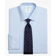 Brooksbrothers Milano Slim-Fit Dress Shirt, Non-Iron Houndstooth