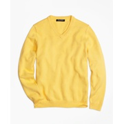 Brooksbrothers Boys V-Neck Sweater