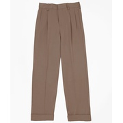 Brooksbrothers Boys Pleat-Front Junior Gabardine Dress Pants