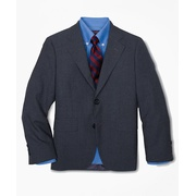 Brooksbrothers Boys Two-Button BrooksEase Prep Jacket