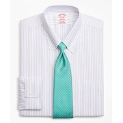 Brooksbrothers BrooksCool Madison Classic-Fit Dress Shirt, Non-Iron Stripe