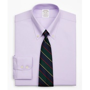 Brooksbrothers Stretch Soho Extra-Slim-Fit Dress Shirt, Non-Iron Royal Oxford Button-Down Collar