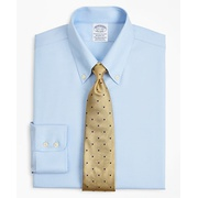 Brooksbrothers Stretch Regent Fitted Dress Shirt, Non-Iron Twill Button-Down Collar