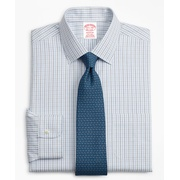 Brooksbrothers Madison Classic-Fit Dress Shirt, Non-Iron Grid Check