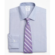 Brooksbrothers Regent Fitted Dress Shirt, Non-Iron Herringbone