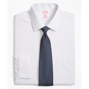 Brooksbrothers Madison Classic-Fit Dress Shirt, Non-Iron Mini Alternating Stripe