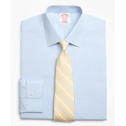 Brooksbrothers Madison Classic-Fit Dress Shirt, Non-Iron Micro-Framed Gingham