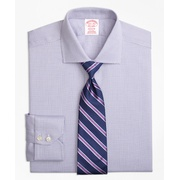 Brooksbrothers Madison Classic-Fit Dress Shirt, Non-Iron Textured Solid