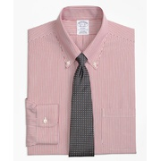 Brooksbrothers Regent Fitted Dress Shirt, Non-Iron Tonal Stripe