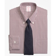 Brooksbrothers Madison Classic-Fit Dress Shirt, Non-Iron Dobby Gingham