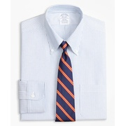 Brooksbrothers Original Polo Button-Down Oxford Regent Fitted Dress Shirt, Bengal Stripe