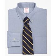 Brooksbrothers Madison Classic-Fit Dress Shirt, Non-Iron Button-Down Collar