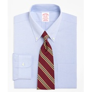 Brooksbrothers Traditional Relaxed-Fit Dress Shirt, Non-Iron Button-Down Collar