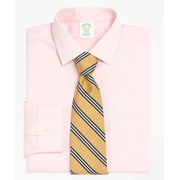 Brooksbrothers Milano Slim-Fit Dress Shirt, Non-Iron Spread Collar