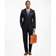 Brooksbrothers Milano Fit Solid 1818 Suit