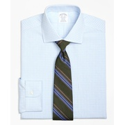 Brooksbrothers Regent Fitted Dress Shirt, Non-Iron Split Check