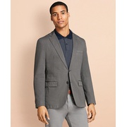 Brooksbrothers Garment-Dyed Stretch Cotton Dobby Sport Coat