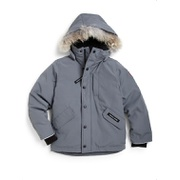 Canada Goose Little Boys & Boys Logan Coyote Fur-Trim Down Parka