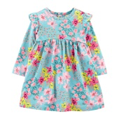 Carters Floral Jersey Dress