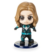 Disney Marvels Captain Marvel Cosbaby Bobble-Head Figure by Hot Toys - Starforce Version