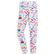 Mickey Mouse Icon Leggings for Girls ? Disney Ink & Paint