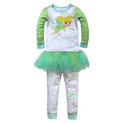Disney Tinker Bell PJ PALS and Tutu Set for Girls