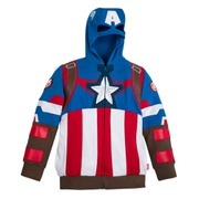 Disney Captain America Zip Hoodie for Boys