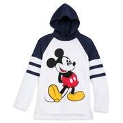 Disney Mickey Mouse Hooded Long Sleeve T-Shirt for Kids