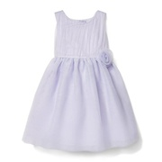 Janie and Jack Tulle Rosette Waist Dress