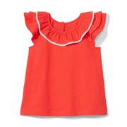 Janie and Jack Ruffle Collar Top