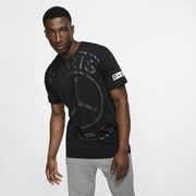 Jordan PSG Jumpman Logo T-Shirt - Mens / Soccer International Clubs | Paris Saint Germain | Black