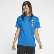 Jordan Retro 4 T-Shirt - Mens / Military Blue