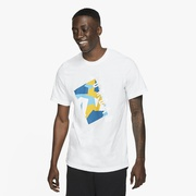 Jordan JSW Pattern T-Shirt - Mens / White
