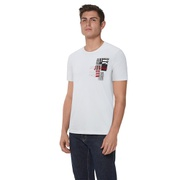 Jordan Jumpman Moto T-Shirt - Mens / White/Black/Gym Red