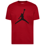 Jordan Jumpman Crew T-Shirt - Mens / Gym Red/Black