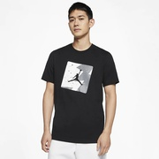 Jordan Poolside T-Shirt - Mens / Black/White