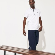 Lacoste Mens SPORT Signature Breathable Golf Polo Shirt