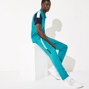 Lacoste Mens SPORT Lightweight Color-Block Track Pants