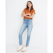 Madewell The Perfect Vintage Jean in Rosabelle Wash: Comfort Stretch Edition