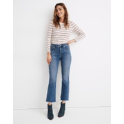 Madewell Cali Demi-Boot Jeans in Fleetwood Wash