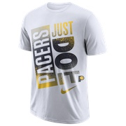 Nike NBA Just Do It Mzo T-Shirt - Mens / NBA | Indiana Pacers | White