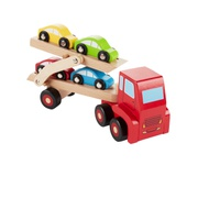 Oshkoshbgosh Wooden Car Carrier Set